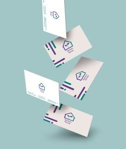 Genesis House Rebranding (Designed for a non-profit.)