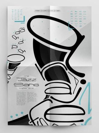 Original Typeface (Poster 2) - Jazz Sans