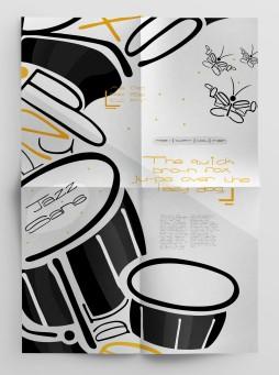 Original Typeface (Poster 1) - Jazz Sans